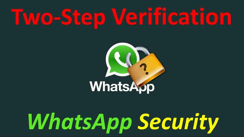 How to setup two-step-authentication on WhatsApp